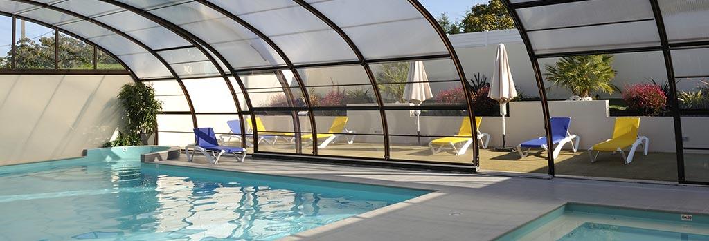 camping piscine couverte et chauffée à Brétignolles