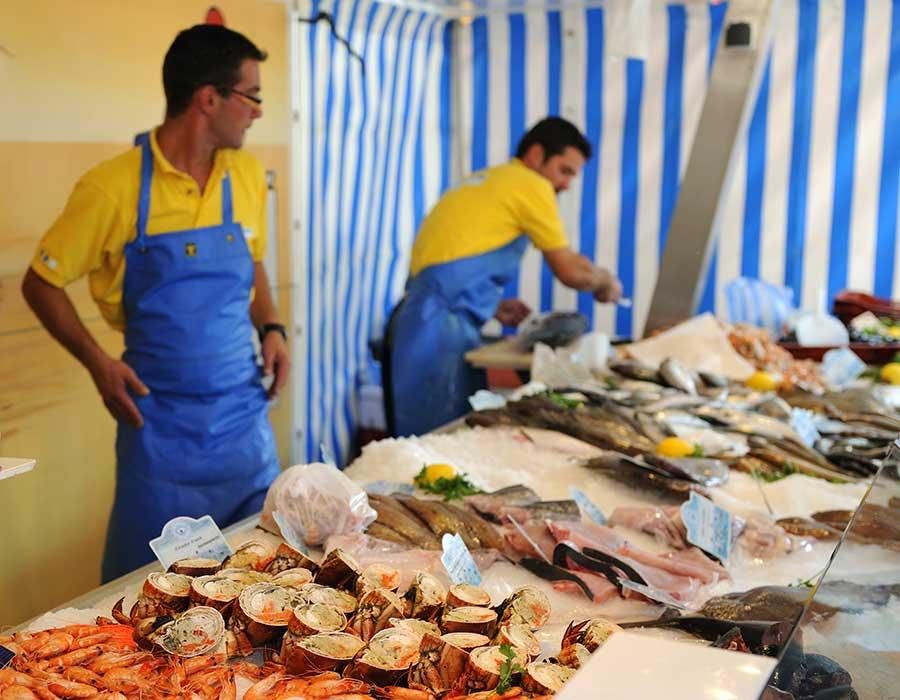Les marchés de Brétignolles sur Mer