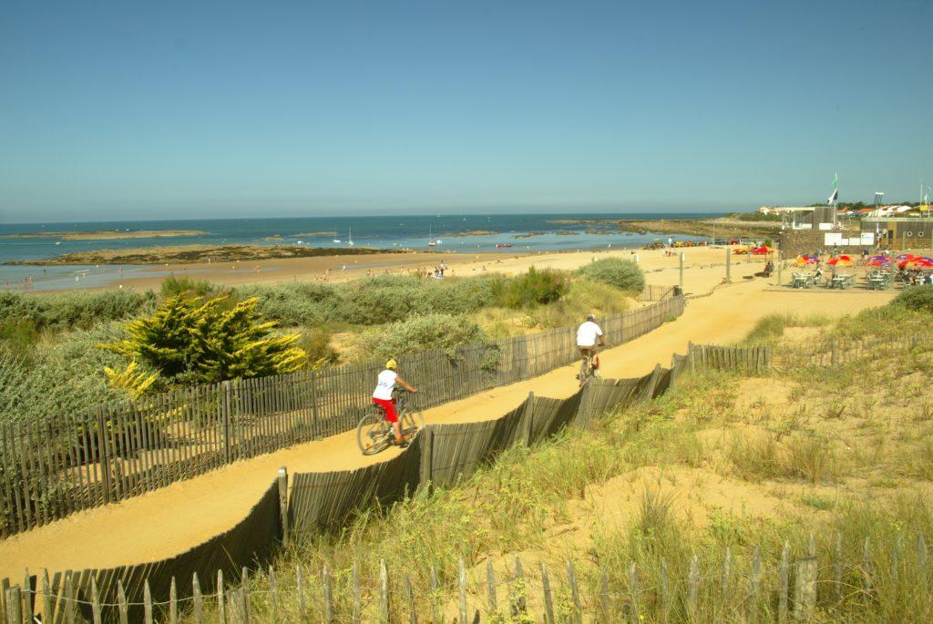 La plage près de votre location mobil-home à Brétignolles sur Mer
