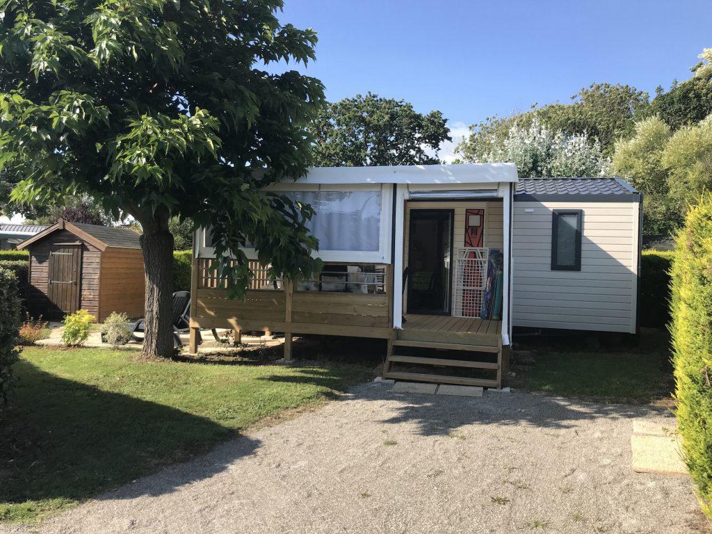 Location Mobil-home dans un petit camping à Brétignolles sur Mer
